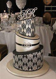 #wedding #cake www.BlueRainbowDe...