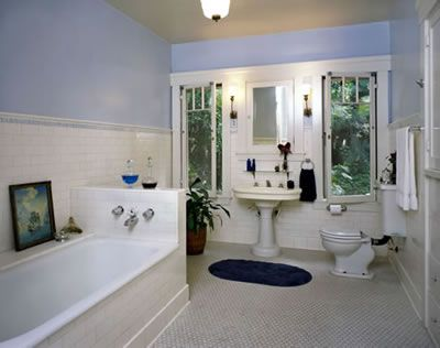 From gallery 1915 bungalow style home in for 1915 bathroom photos