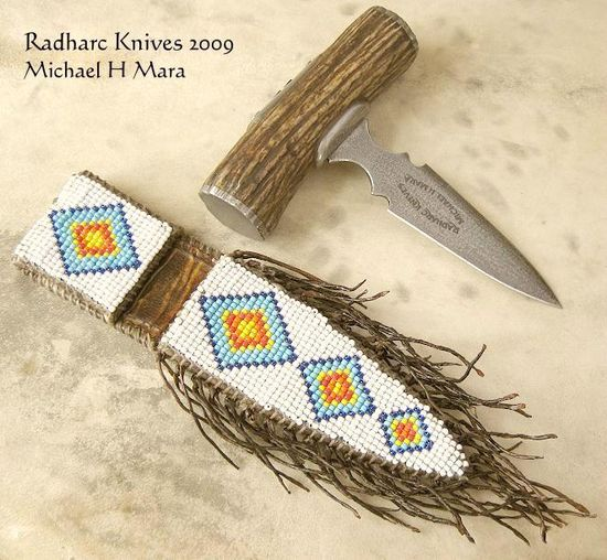Custom Handmade Knives - Santee Push Dagger