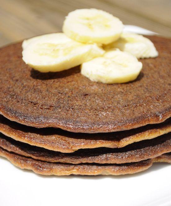 Banana Bread Pancakes   @ Paleo Comfort Foods