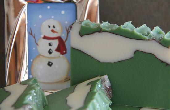 Balsam Pine Handmade Soap Vegan Cold Process by Indie Beauty Network member CaliseSoapworks, $6.00
