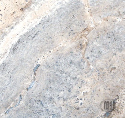 Silver Travertine floor tiles by MSI Stone