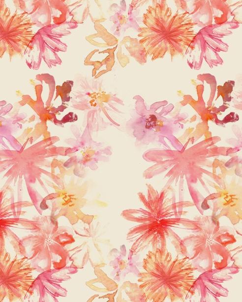 // watercolor flowers