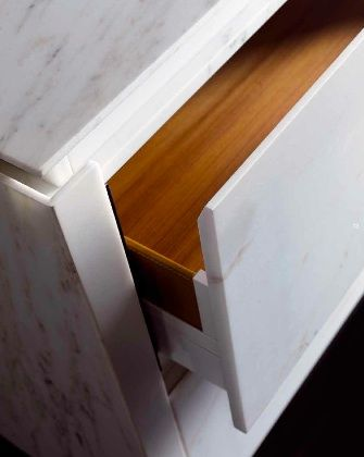 marble doors and draws