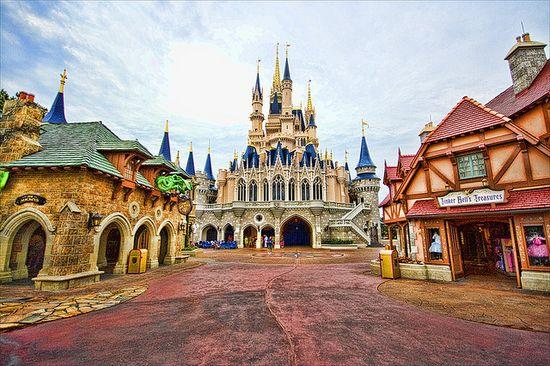 Magic Kingdom - Fantasyland Morning by Matt Pasant