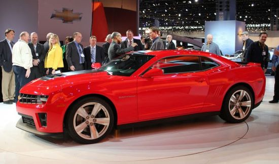Chevrolet Camaro 2012 — Cheapest new sport cars list