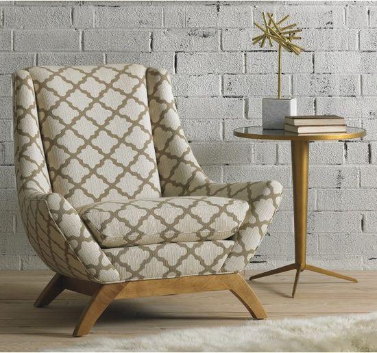 Jensen Chair - Explore the Winter Furniture Event - 20% off all furniture. #Home #Decor #Chairs #Modern #Interiors #Design