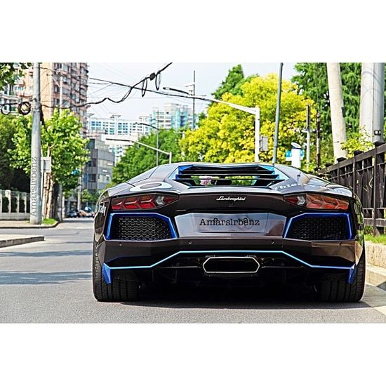 Lamborghini Aventador with a cool trim! Rate this out of 10 in the comments
