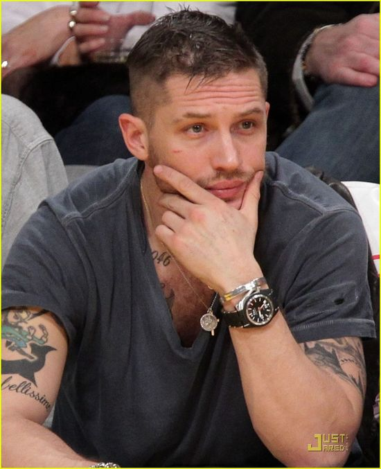 Tom Hardy is gorgeous