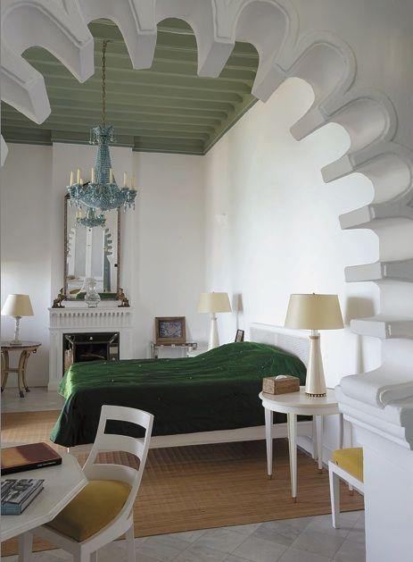 jacques grange bedroom.