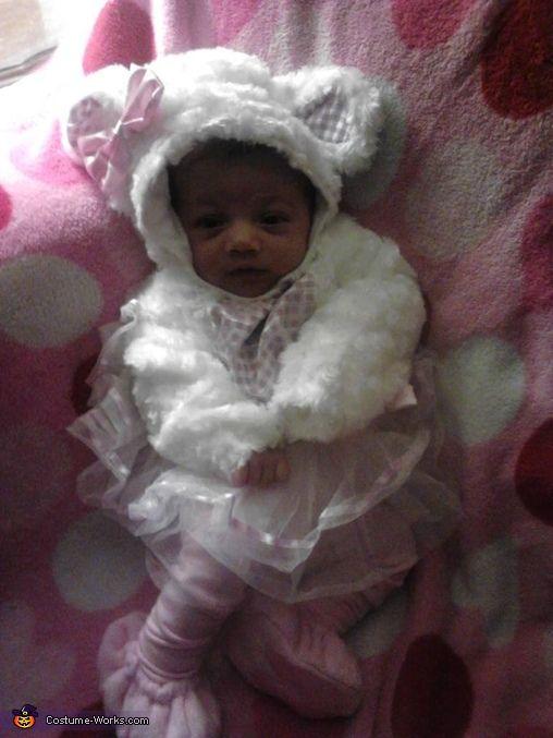 Little Baby Girl Lamb - 2013 Halloween Costume Contest