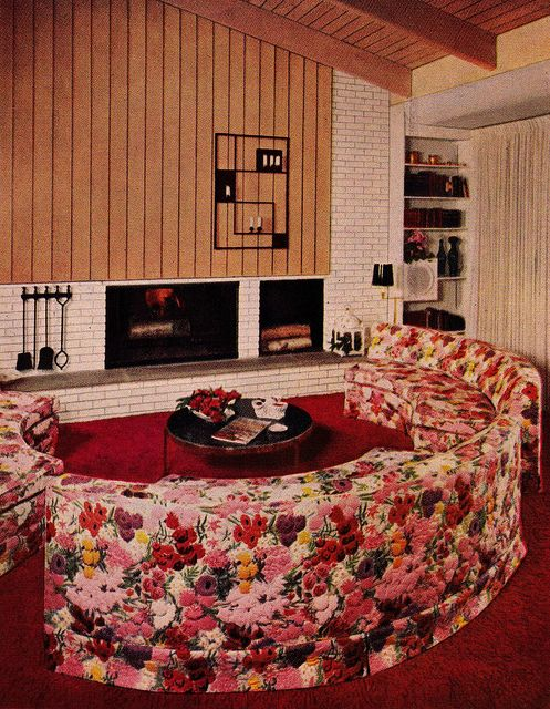Over-the-top upholstery, 1956. 1956 edition, Better Homes & Gardens Decorating Book.