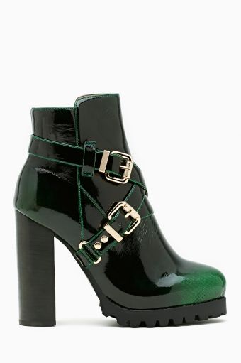 Mercer Buckled Ankle Boot.