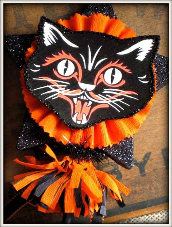 Vintage inspired Halloween Decorations