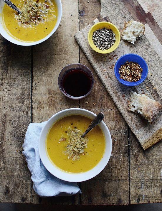 Roasted Squash & Pear Soup