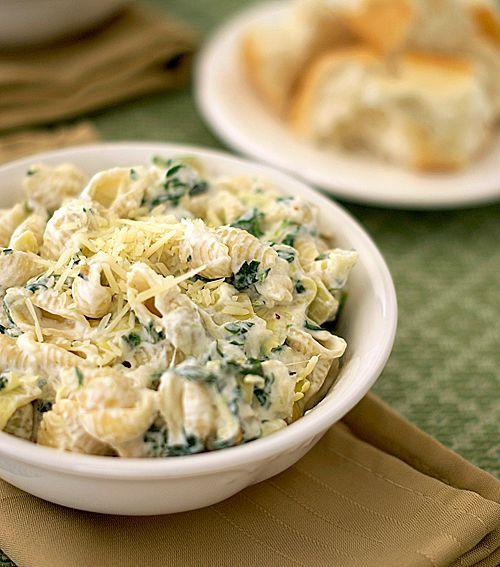 Spinach/Artichoke Pasta