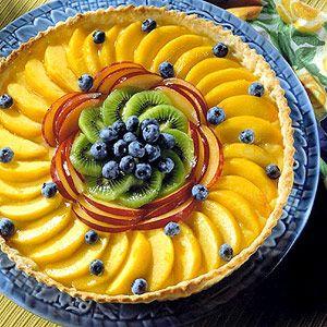 love the design of this fruit tart!