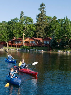 Detroit Lakes - Simple pleasures like water skiing, a huge flea market and a county fair await summer guests!    Check out other Minnesota lake vacations. www.midwestliving...