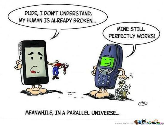 Meanwhile, in a parallel universe …