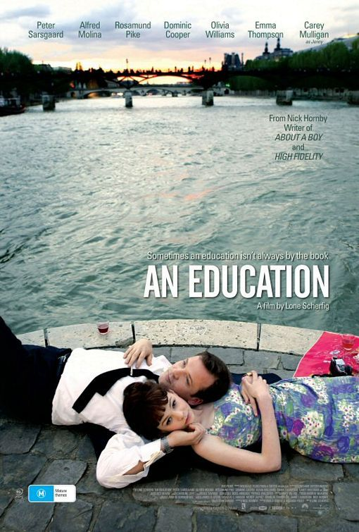an education - carey mulligan, emma thompson, oil via williams, dominic cooper, rosamund pike, alfred molina, peter sarsgaard