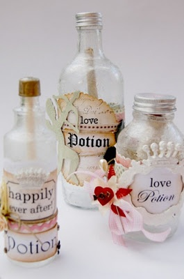 Love love love these Love Potion bottles :):):):)