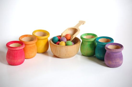 Cute Montessori toys