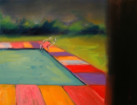 "Ian Mclean; Oil, 2011, Painting ""Embellishment"""