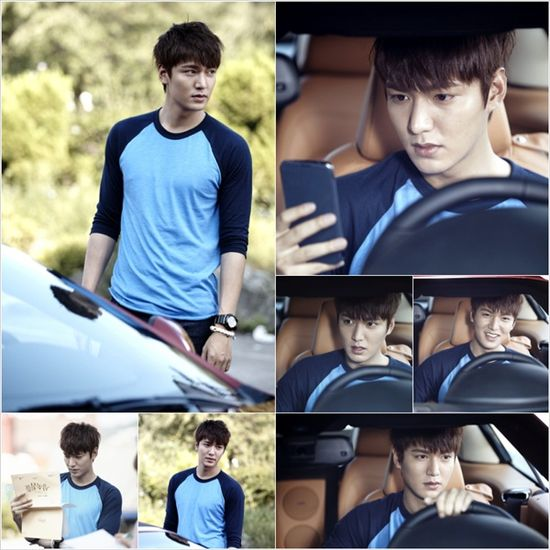 'The Heirs' reveals first glimpse of handsome Lee Min Ho ~ Latest K-pop News - K-pop News