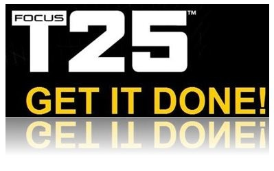 Focus T25 - Get It Done   T25 Logo