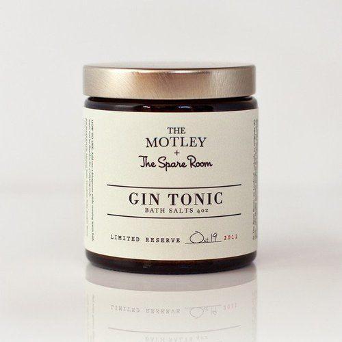 Gin Tonic Bath Salts.