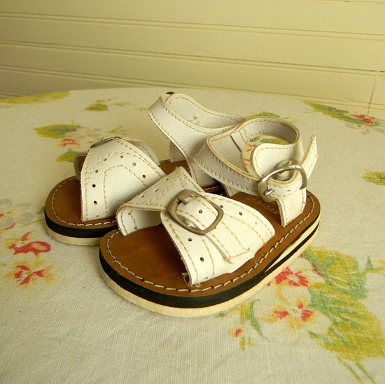Vintage Baby Girls Sandals