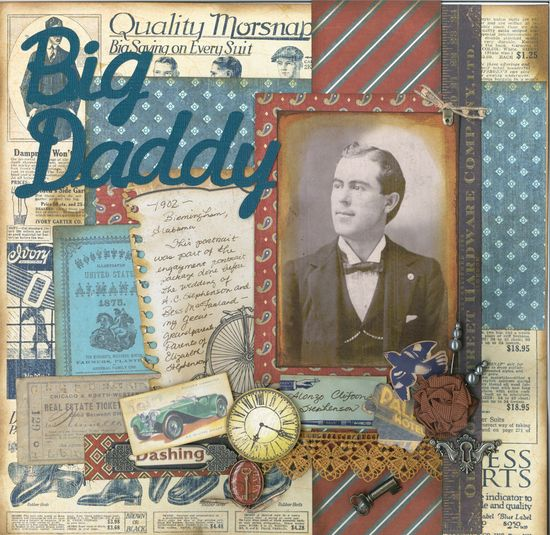 Big Daddy ~ 1902 - Scrapbook.com