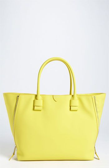 MARC JACOBS ~ Yellow Leather Tote
