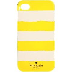Yellow stripe iPhone case
