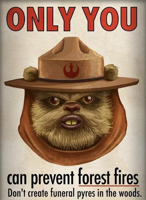 Smokey the Ewok.