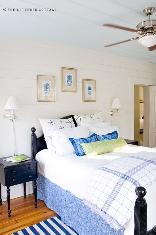 Love this bedroom...you can feel the sea breeze just looking at it      Breeze Inn