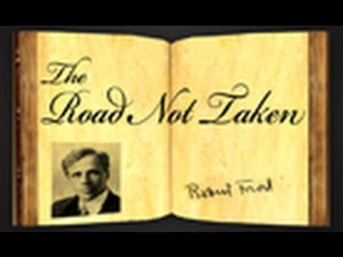 """The Road Not Taken"" by Robert Frost (Poetry Reading) www.youtube.com/..."