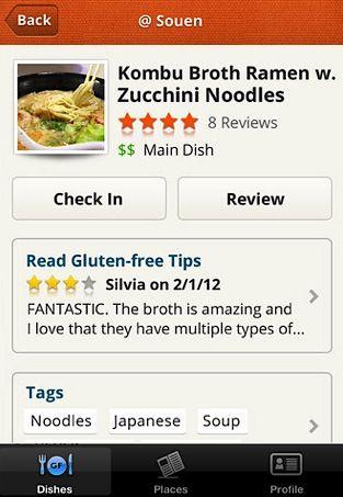 Gluten-Free App #gluten #free