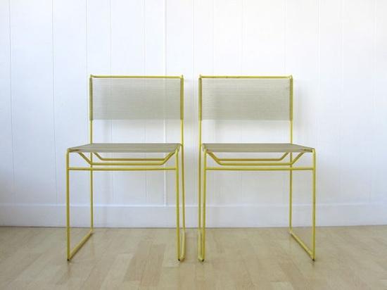 Mid Century Modern Italian Chairs