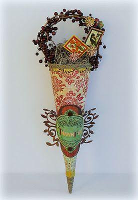 Cute paper cone idea!