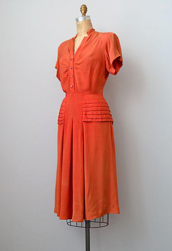 Vintage 1940's dress.