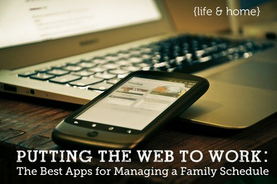 Best Apps for managing a family schedule