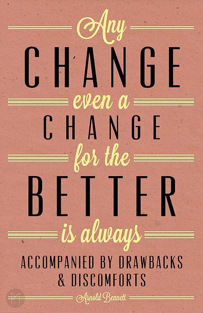 Any change...