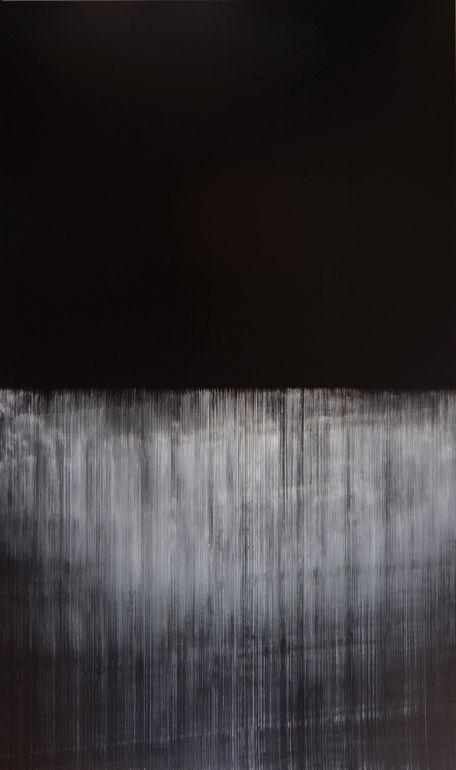 "Saatchi Online Artist: Akihito Takuma; Oil, 2012, Painting ""Lines of Flight,op.370"""
