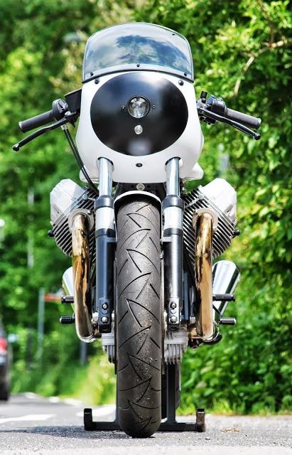 Moto Guzzi Cafe Racer by HT Moto.