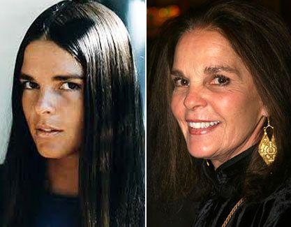 Ali MacGraw. At 72, she still looks fabulous!
