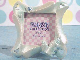 Cute Baby bottle frame favor