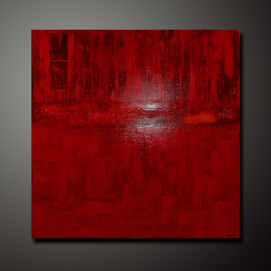 abstract art - red