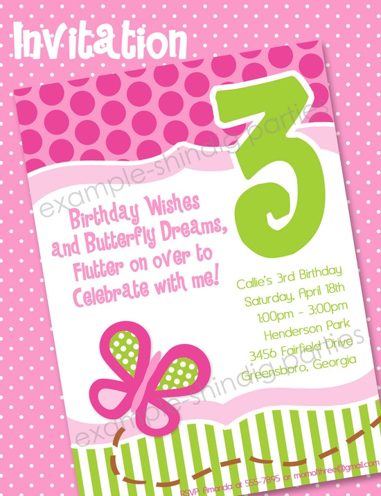 Butterfly Party Printables - Butterfly Birthday Party Set by Amanda's Parties TO GO