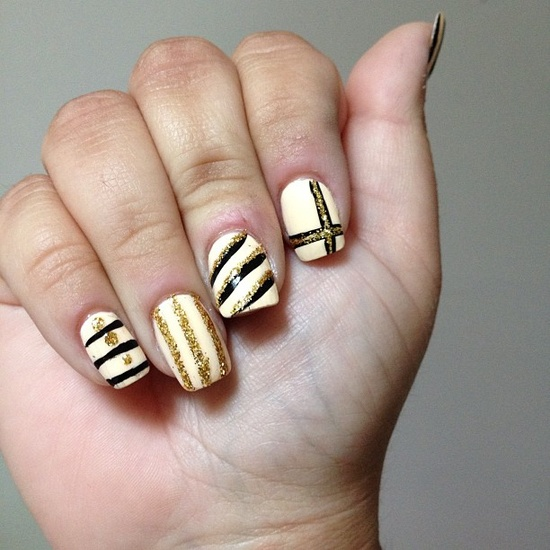 coldheartcoveredingold's nails! Show us your tips—tag your nail photos with #SephoraNailspotting to be featured on our social sites!